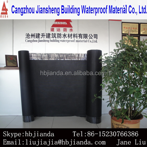 BLACK ROOF FELT BUILD PAPER with CE certificate