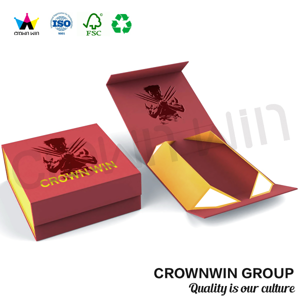 Fashion Luxury Gift Paper Box For Garments, Folding Clothing Boxes