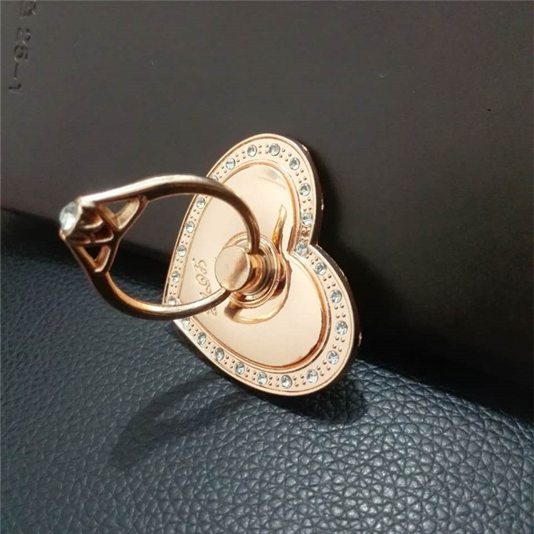 Mobile Phone Dynamic 3D Moving Bling Flowing hot ring cheap ling Glitter Sparkle Quicksand with Ring Finger Grip Stand Holder
