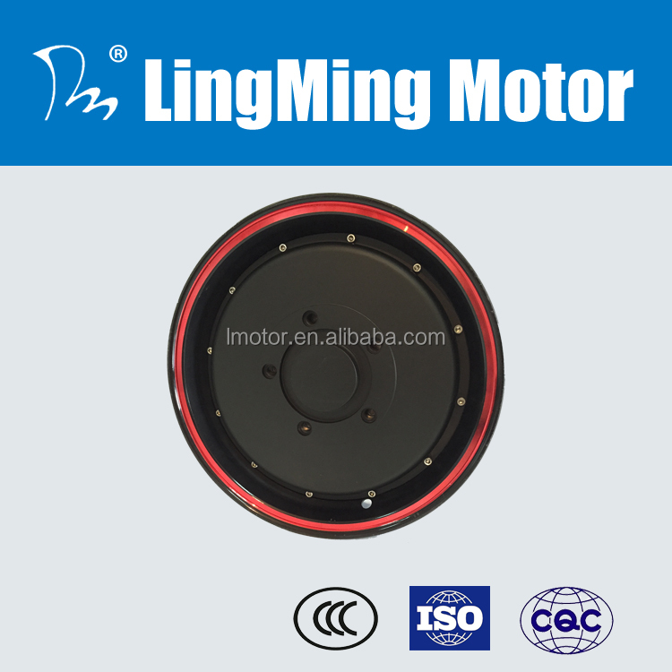 72v 5kw brushless dc in wheel hub motor