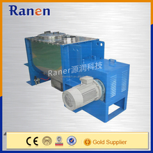 China stainless steel double screw horizontal ribbon mixer for spice and detergent powder