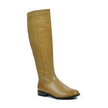 2017 Women Leather Boots Ladies Handmade Low Price Knee High Boot