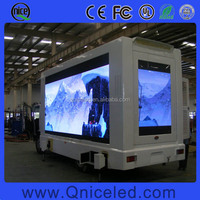 Waterproof SMD Outdoor LED Display P8 P10 Mobile LED Billboard Trailer