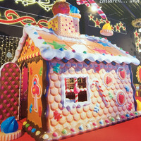 New models christmas village houses for christmas decoration