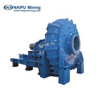 Centrifugal slurry pump for mineral separation in non-ferrous and ferrous metal mines