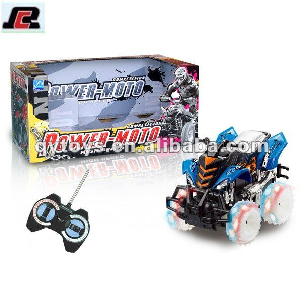 4 Function RC Motor Cycle Truck Popular Wholesale New Kid Car Toys Mini Scooter Toy For Christmas 2013