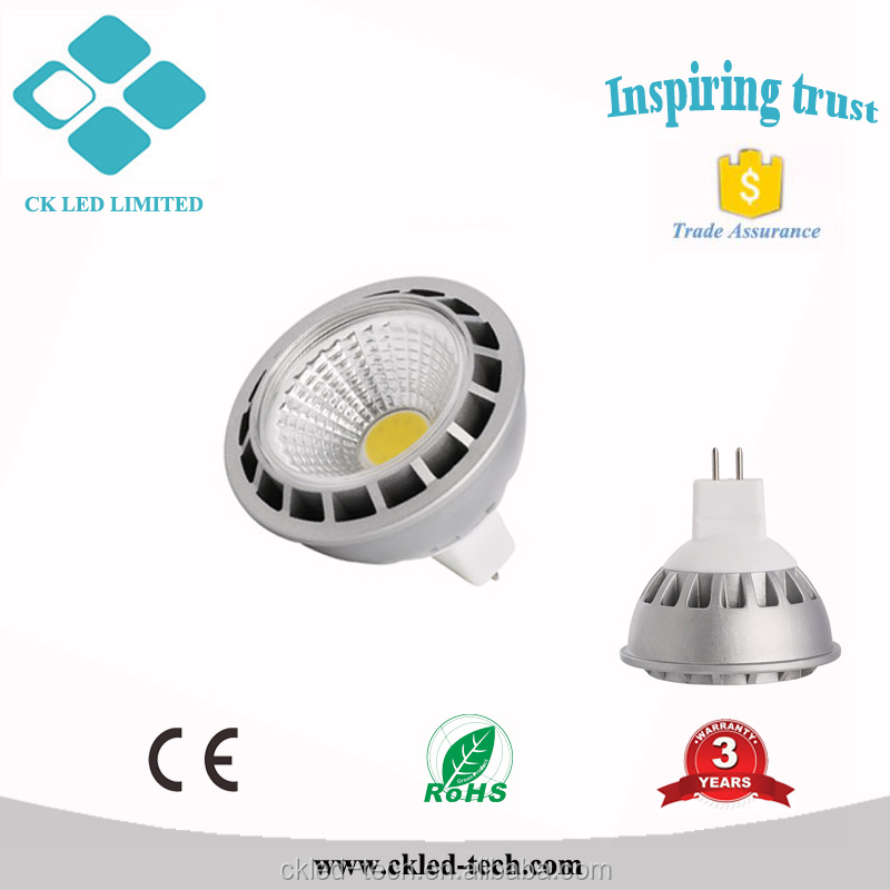 MR16 12V GU5.3 Bright 5watts LED Spot Bulb Lamp 3000K 6000K COOL Light