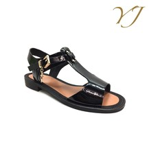 Wholesale cheap price ladies fashion fancy formal flat sandals