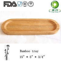 Bamboo sushi candy food tray