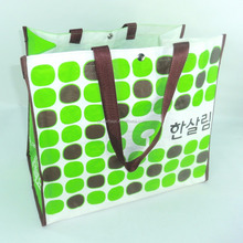 China Recycled PP Woven Shopping Bag For Advertising