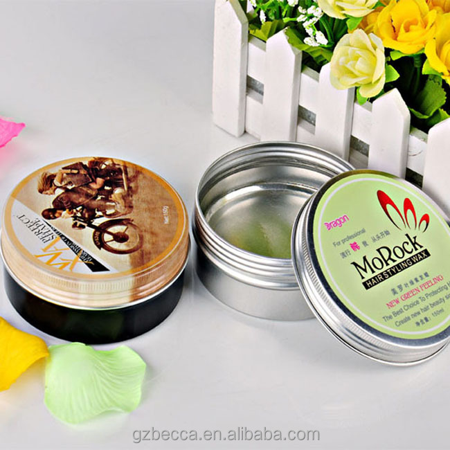 Professional manufacture bon hair wax styling shine nitro canada hair wax