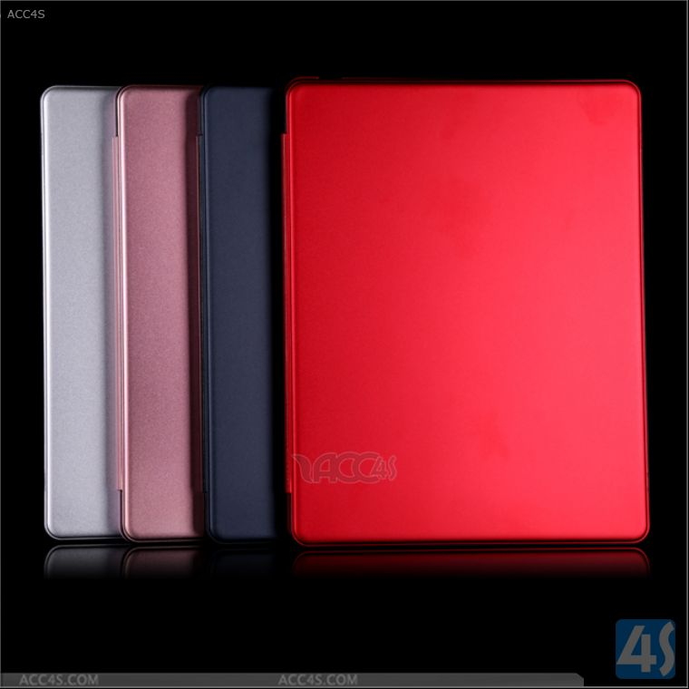 Hot new products for 2014 ultra thin aluminum Wireless bluetooth Keyboard Leather Case for ipad 3 keyboard case