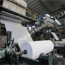 Hand towel tissue paper making machine Dingchen Machinery high performance paper machine