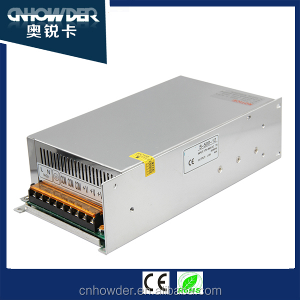 24v 25a 600w cpu Switching Mode Power Supply with 24v ac dc single output power supply high reliability