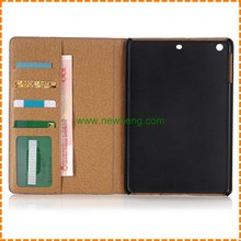 Soft Leather Case Stand Wallet Cover For iPad Mini 1 2 3 4