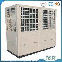 BC35-180T Split type 90KW 4cop 9.5kw/h air to water heat pump air water used