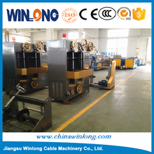 Easy control Vertical Bare Wire or Cable Automatic Tape Wrapping Machine