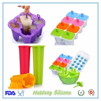 Factory customized food grade silicone ice cube tray