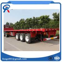 3 Axles 40ft Container Flatbed Container