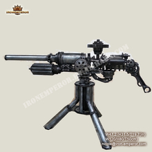 antiquehome decor metal weapon and gun model for museum decoration