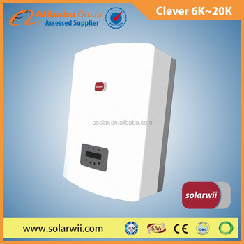 solar power energy 6K to 15K Clever Series inverter solar energy for solar hybird system