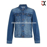 2015 elegant blue jacket man denim jean jackets (JXW804)