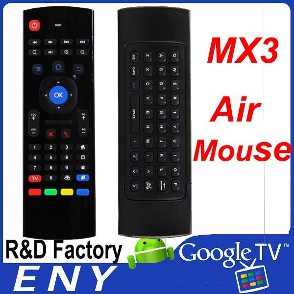 Best Selling 2.4G Smart Android Box Remote Control Wireless Remote Control