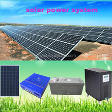 Clean Energy Solar Power 5KW Solar Panel System solar panel kit for small home use