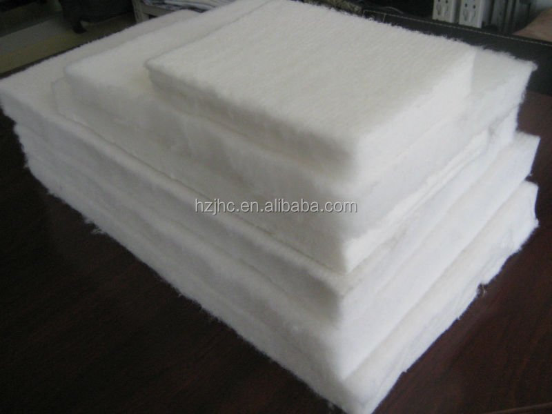 Eco-friendly thermal bonded polyester fiber padding/batting for mattress