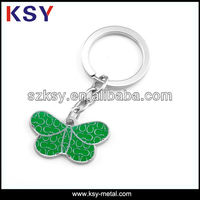 Butterfly shape custom engraved jewelry tags/logo debossed charms