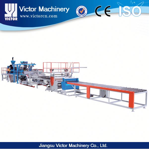 PLASTIC PP/ PS/PVC/ PET PLATE EXTRUSION LINE, PLATE EXTRUDERING MACHINE