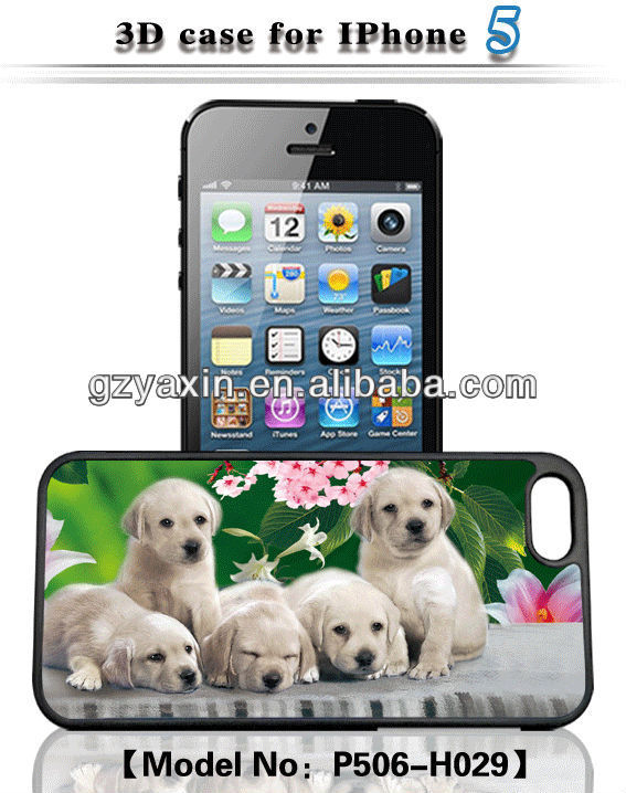 3d animal phone case for iphone/samsung/others,Protective 3D phone case for iphone 5