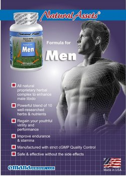 Herbal Male Tonic & Enhancement Natural Medicine