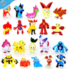 Cartoon Action Pokemon Figure Pokemon Plastic