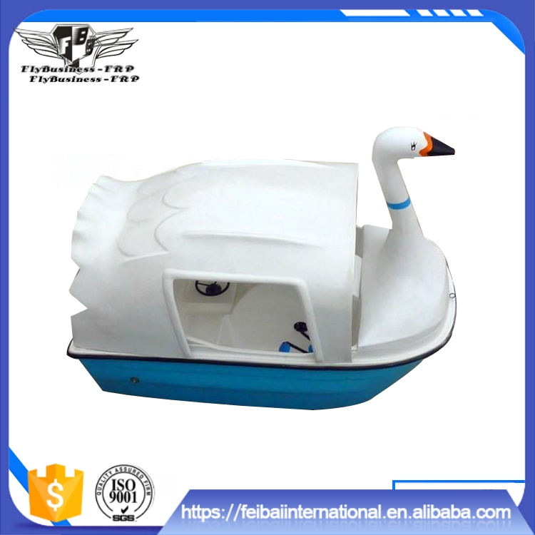 Light weight can eliminate internal water by itself used swan pedal boats for sale