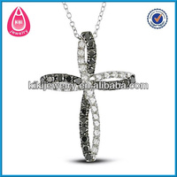 2014 new style crystal cross necklace indian bridal jewelry