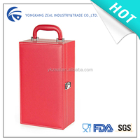 ZS501A PU boxes for wine