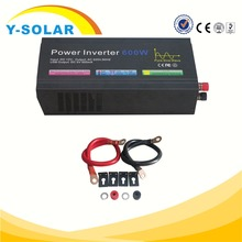 Y-SOLAR I-Z-600W Pure Sine Wave Mean Well 600W Solar Charger 12v DC to 240v AC Off Grid Power Inverter