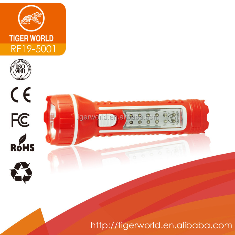 factory small powerful rechargeable red hunting led focus torch light