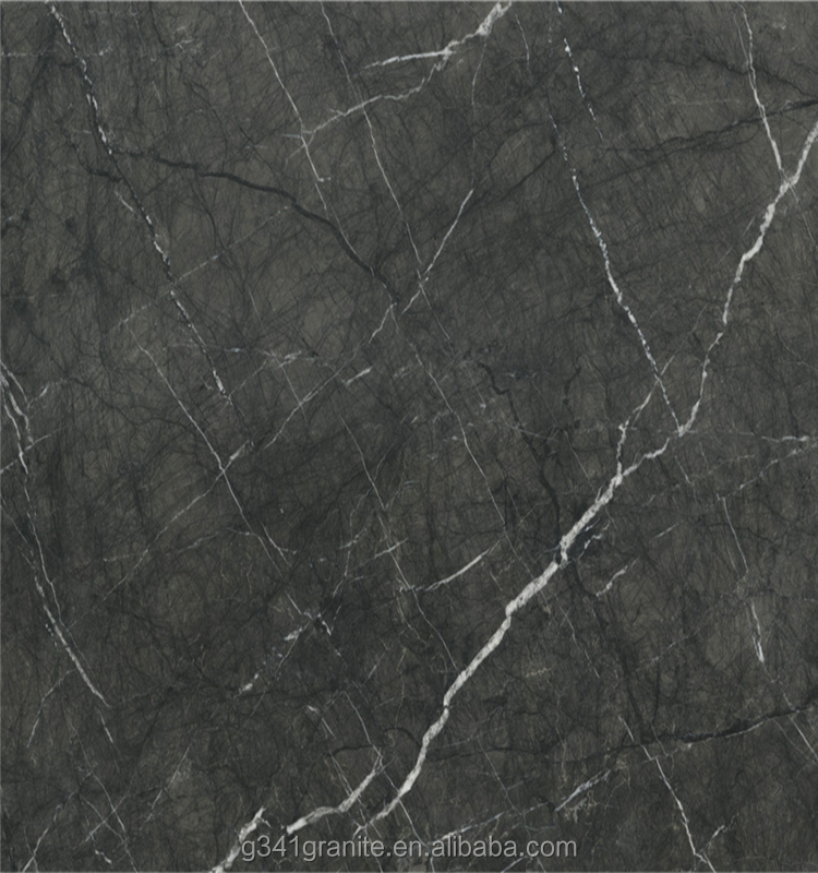 Roman ash marble and marble worktop New products on china market small square glitter crystal marble and glass mosaic tile