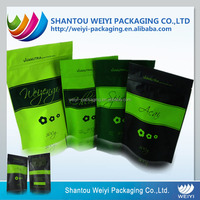 biodegradable stand up pouch use tea packaging bag/plastic packaging bag for chips /snacks