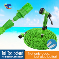 Tall-Top New Garden Product 2016 Innovative Hose For Irrigation With Water Hose Quick Connector Green Garden Hose 50FT TA50050