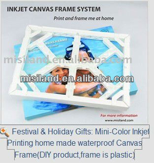 Mini-Color DIY Inkjet home made waterproof Canvas Frame