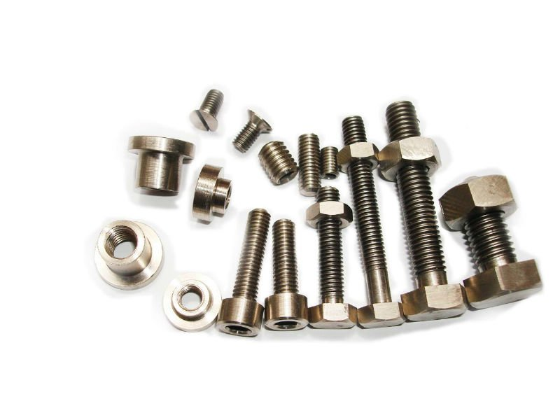 High Quality High Strength Gr5 Titanium Screw Bolt