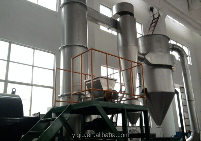 black iron oxide XSG Series Flash Dryer in pigment industry
