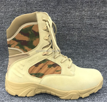 2017Camouflage delta high support military boots combat boots special leather outdoor desert tactical boots