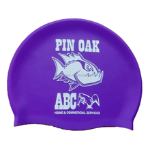 customized durable waterproof sports silicone ear protection swim cap