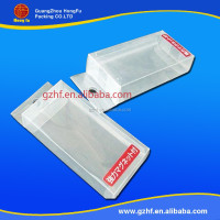 disposable transparent hard plastic packaging box for cell phone case