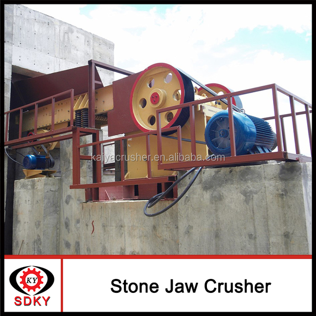 Wholesale Products China construction equipment High reliability industrial crusher machine High reliability jaw crusher working