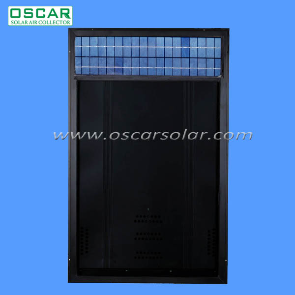 Solar ventilation OS34--polycrystalline wall pack air conditioning